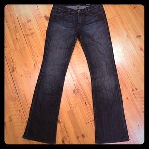 7 for all man kind high waist boot cut jeans